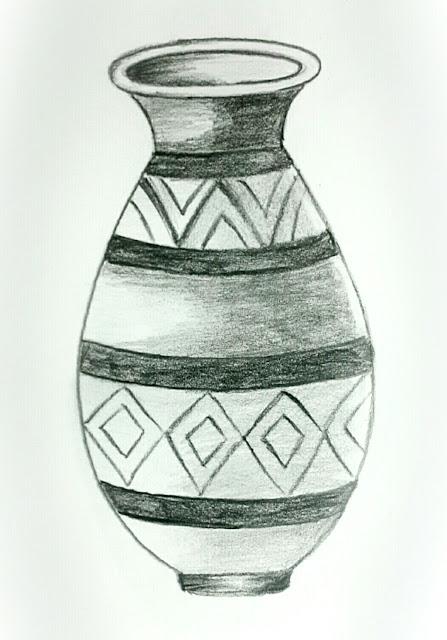 Thanush Pot Pencil Shading