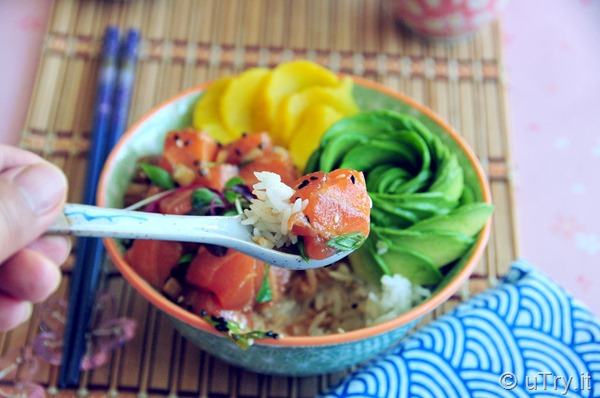How to Make Hawaiian Poke Bowl  http://uTry.it