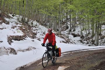 Auf dem Weg zum 1414m hohen Veliki Pass
