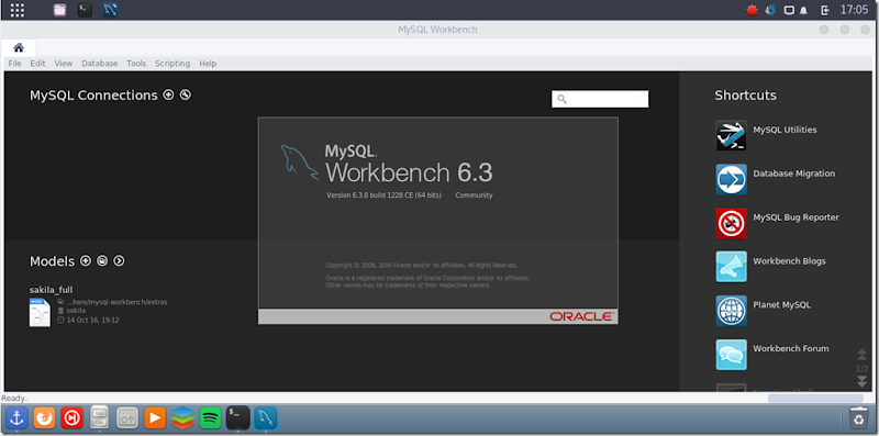 mysql workbench on manjaro
