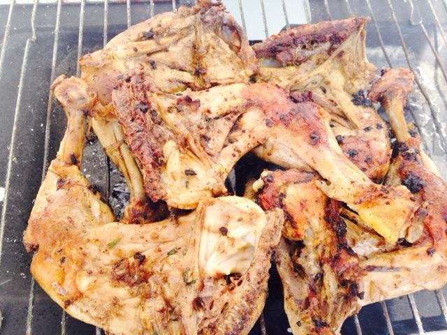 Recette poulet brais la s n galaise - Comment faire du poulet grille ...