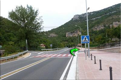 Giro a la derecha