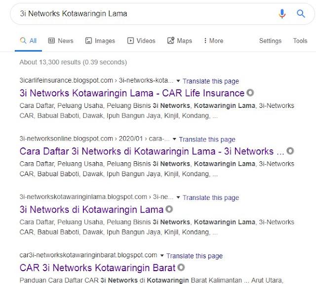 3i Networks Kotawaringin Lama