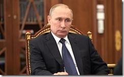 Vladimir Putin at the meeting with Higher School of Economics Rector.