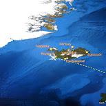 departing Iceland for Amsterdam in Reykjavik, Hofuoborgarsvaeoi, Iceland