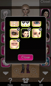 Click to Enlarge - Style Me Girl Level 66 - Stripes - Annie - Closet items 3