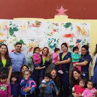 Inauguración Mural Jardín Infantil Caballito Azul