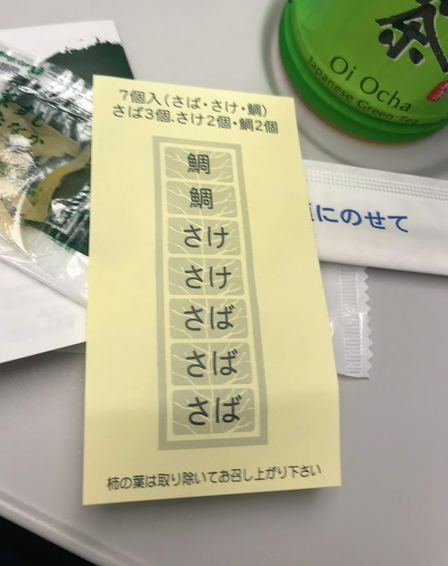 お寿司の配置
