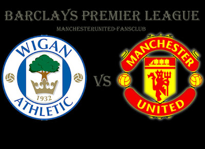 Wigan Athletic v Manchester United, Barclays Premier League