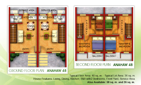 Las Palmas subdivision floor plan