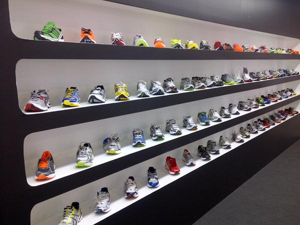 Zapatillas y material para maratón