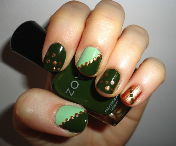 St Patrick s Patty s Day Nail Art 2