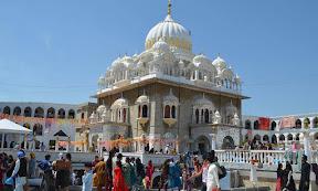 A view of Gurdwara Punja Sahib