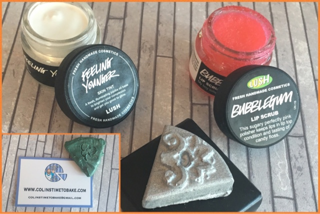 trying new lush makeup