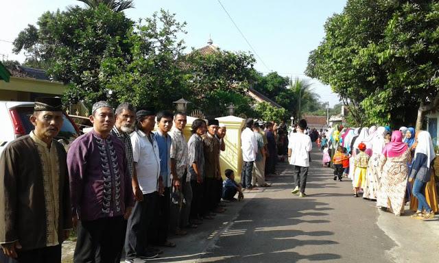 Halal Bihalal Warga Dusun Sidakangen