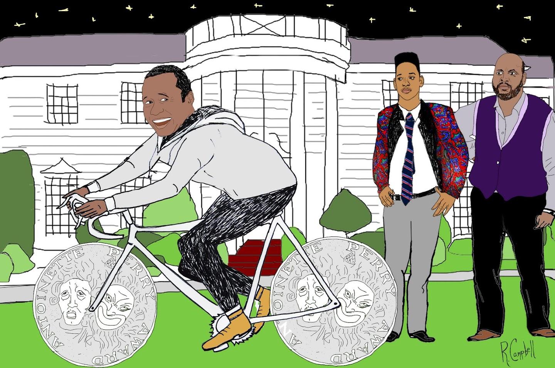 Ben Vereen Cyclist