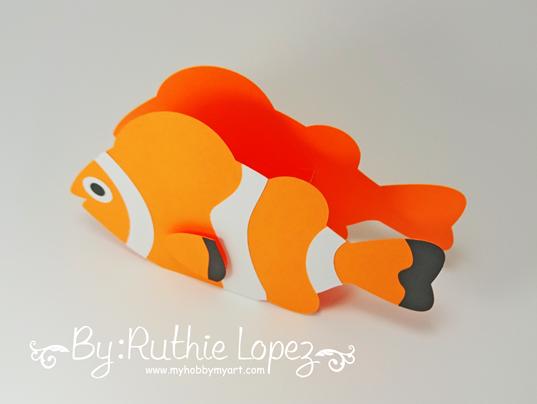Nemo - Dory - Buscando a Nemo - Buscando a Dory - Finding Dory - Finding Nemo - Ruthie Lopez - My Hobby My Art 2