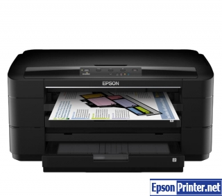 How to reset Epson WorkForce WF-7015 printer