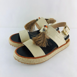 Marcela B. Canvas NEW Sandals