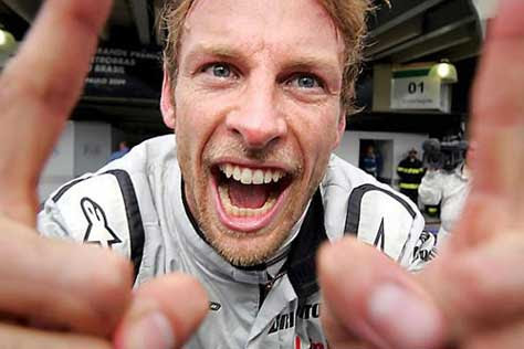 Jenson Button, simpáticoa