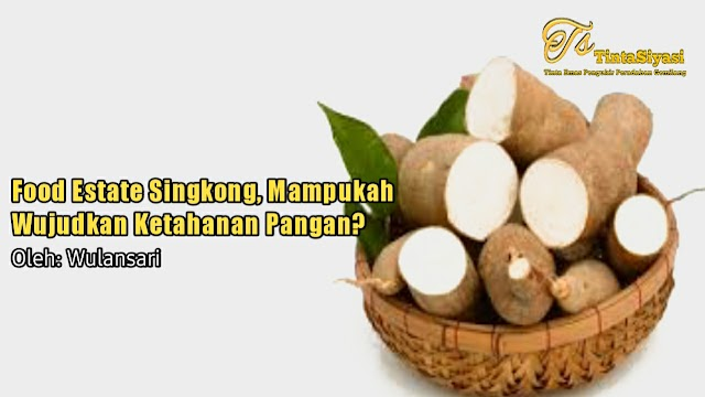 Food Estate Singkong, Mampukah Wujudkan Ketahanan Pangan?