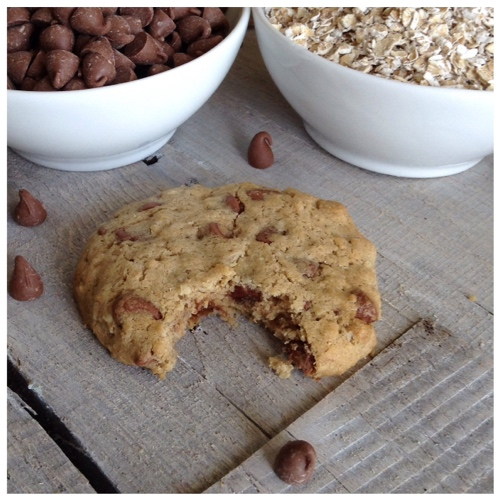 Gluten Free Oatmeal Chocolate Chip Cookies - Dinner Was Delish