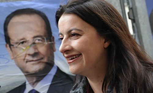Cecile Duflot, ministra de vivienda, amenaza a la Iglesia    AFP PHOTO / BERTRAND GUAY