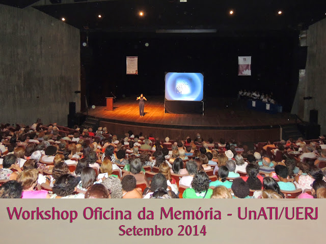 Workshop Oficina da Memória - UnATI/UERJ (Setembro 2014)
