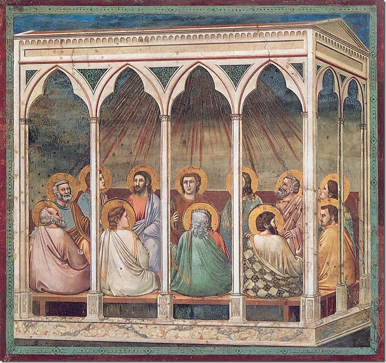 Pfingsten Pentecoste_Giotto_Padua