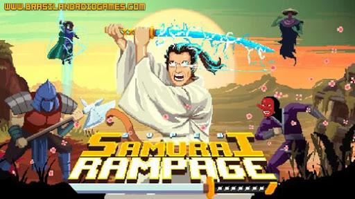 Super Samurai Rampage Imagem do Jogo