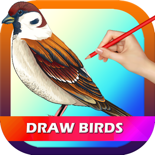 How to draw a Birds 2016 遊戲 App LOGO-硬是要APP