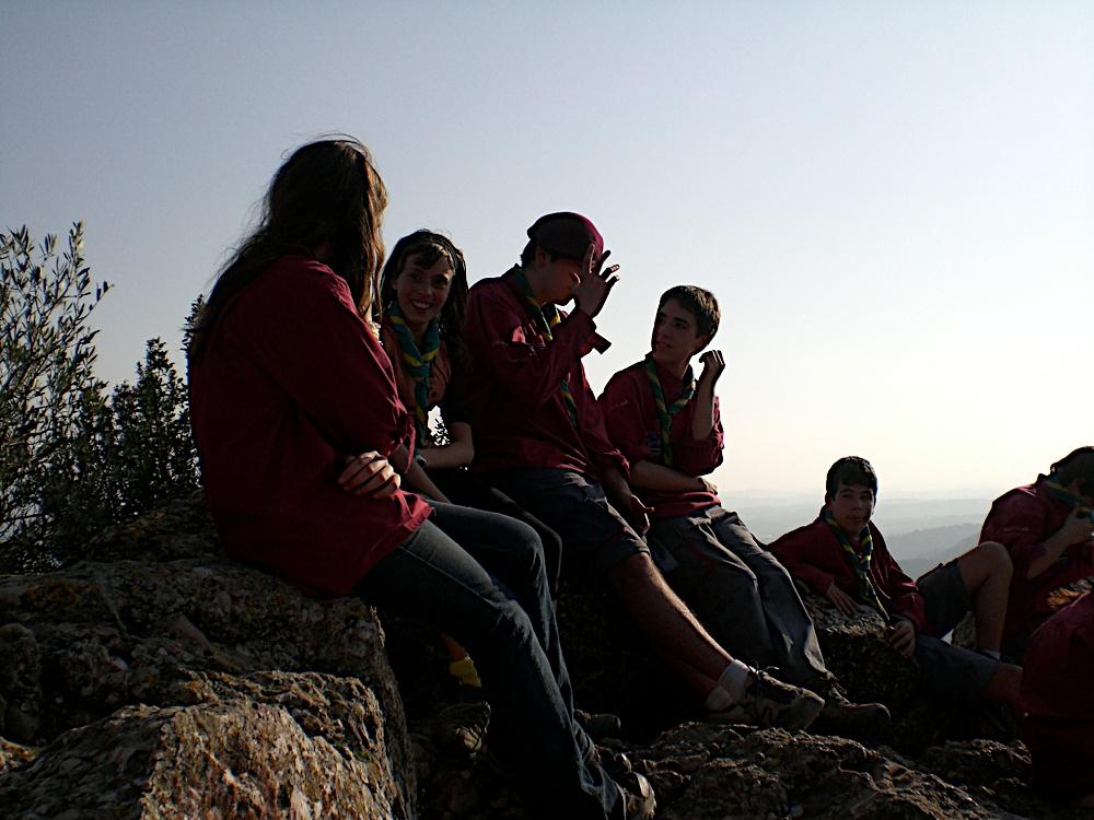 Sortida Sant Salvador de les espasses 2006 - CIMG8297.JPG