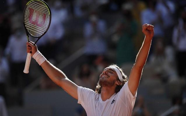 Μυθικός Τσιτσιπάς, στον τελικό του Roland Garros