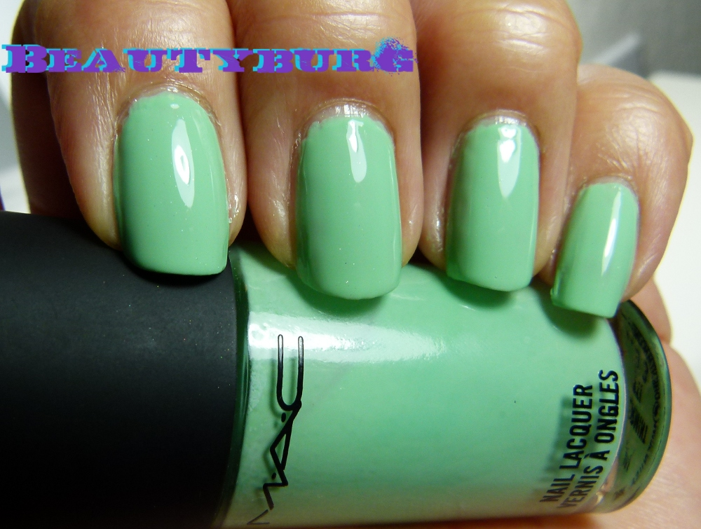 March Madness! Greens All Month - MAC Peppermint Patti - From The ...