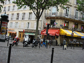 Just a typical Parisian street corner.