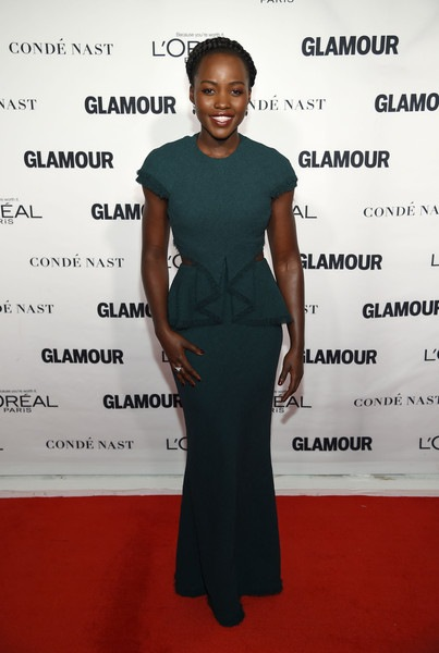 Lupita Nyong'o attends 2015 Glamour Women Of The Year Awards
