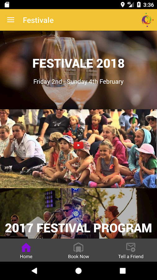 Festivale- screenshot
