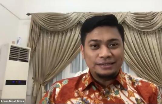 Adnan P Ichsan Bupati Gowa Ajak Pemuda Indonesia Sukseskan Pilkada Serentak 2020