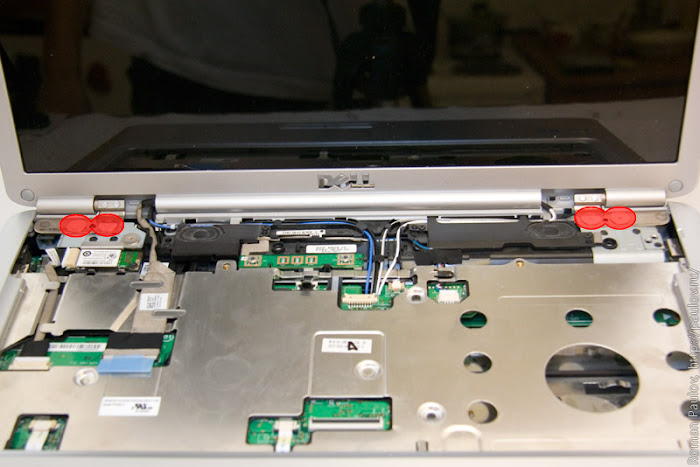 Как разобрать ноутбук Dell Inspiron 1525 17