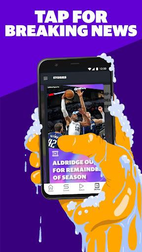 Yahoo Sports: Get live sports news & updates 9.1.2 screenshots 4