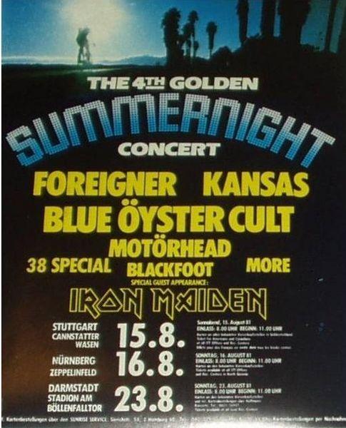 19810815f4th-Golden-Summer-Night-Festival-Poster