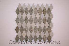 Diamond, Flooring, Flooring & Mosaics, Interior, Mosaic, Natural, Pattern, Quartzite, Rose, Stone, Tile, White