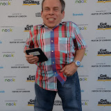 WWW.ENTSIMAGES.COM -  Warwick Davis   at Get Reading festival at Trafalgar Square, London Organised by the Evening Standard in partnership with e-reader firm NOOK July 13th 2013                                             Photo Mobis Photos/OIC 0203 174 1069