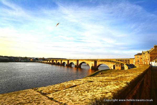 Berwick Walls Walk Bridge
