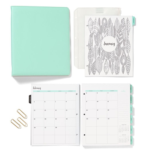 2016-10-17 everyday life sea glass album & 2017 planner pages 7834cb06-9760-4a77-8709-ba19a274c8d8