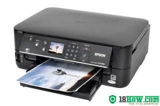 How to reset flashing lights for Epson SX535 printer
