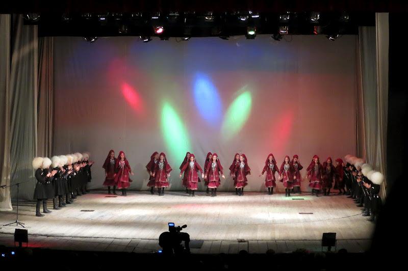 Traditional Georgian dance