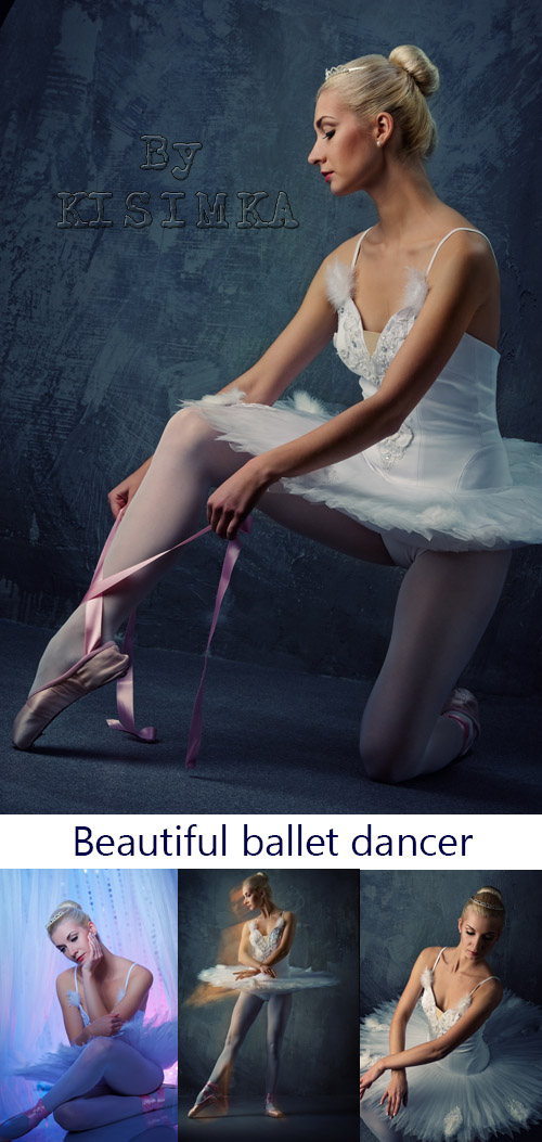 Stock Photo: Picture of a beautiful ballet dancer