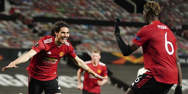6 Statistik Penting Kemenangan Manchester United lawan Roma