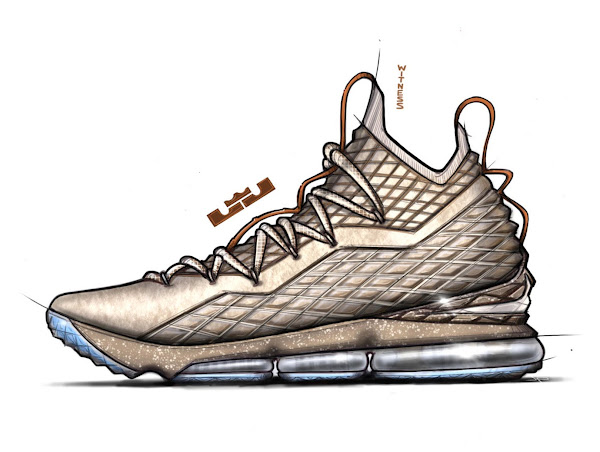 Jason Petrie Talks Nike LeBron 15